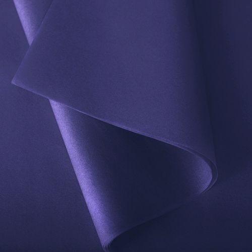 Papier de soie 50x75 cm - coloris violet - 240 feuilles - par 2