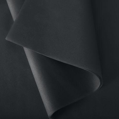 Papier de soie 37x50 cm - coloris noir - 240 feuilles