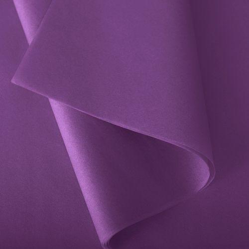 Papier de soie 37x50 cm - coloris solferino - 480 feuilles