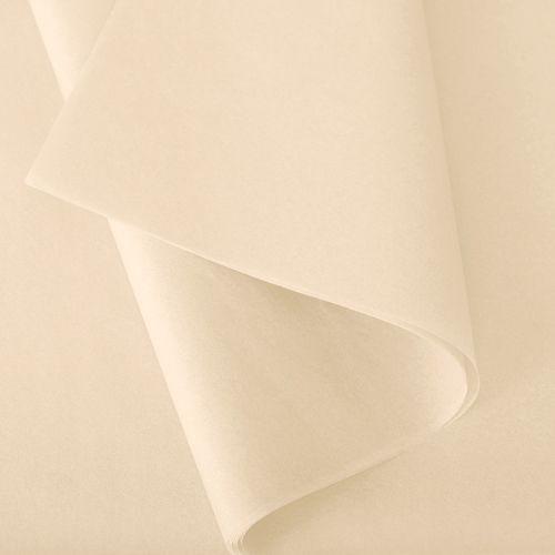 Papier de soie 37x50 cm - coloris crème - 480 feuilles