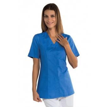 Tunique médicale bleue Sion - L