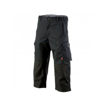 Pantacourt de travail Homme confort Stretch noir - T3 48-50 - L