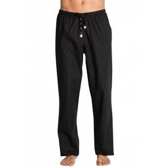 Pantalon médical noir, coupe unisexe stretch - XXL