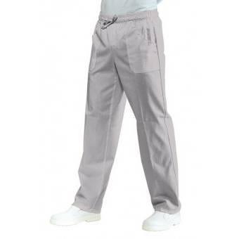 Pantalon Médical Mixte  Taille Elastique Gris - XL