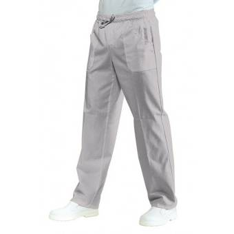 Pantalon Médical Mixte  Taille Elastique Gris - XXL