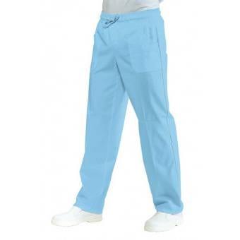 Pantalon Médical Mixte Taille Elastique Ciel - S