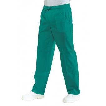 Pantalon Médical Mixte Taille Elastique Vert - M
