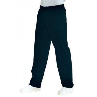 Pantalon Médical Mixte  Taille Elastique  Noir - S