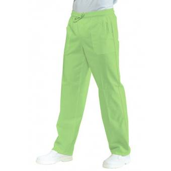 Pantalon Médical Mixte Taille Elastique Vert Pomme - XXL