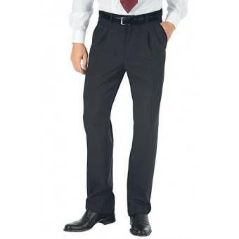 Pantalon a Pinces Homme Hiver Anthracite - 40