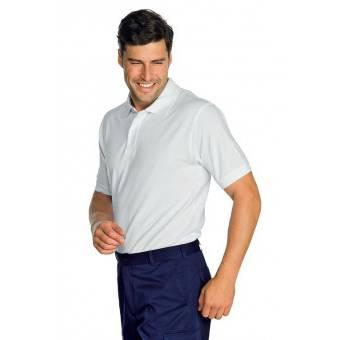 Polo manches courtes Blanc - L