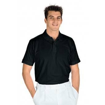 Polo manches courtes Noir - XL