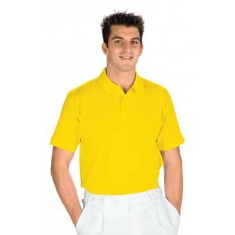 Polo manches courtes Jaune - XL