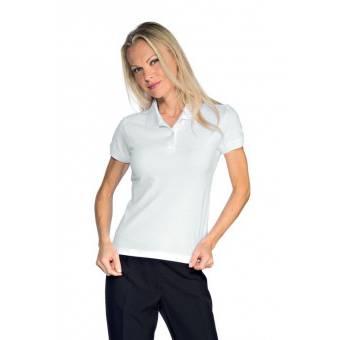 Polo Femme Stretch Blanc - S