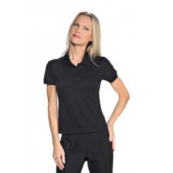 Polo Femme Stretch Noir - XL