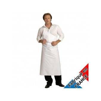 Tablier de boucher parisien 100% coton -