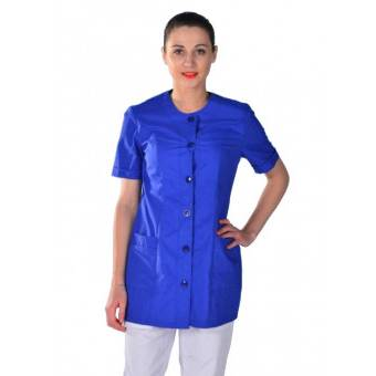 Tunique médicale couleur bleue Clinic Look - M
