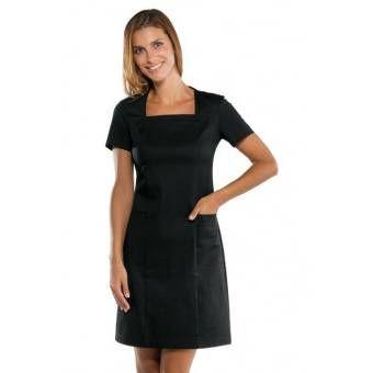 Robe noire de service Uniforme Femme - XXL