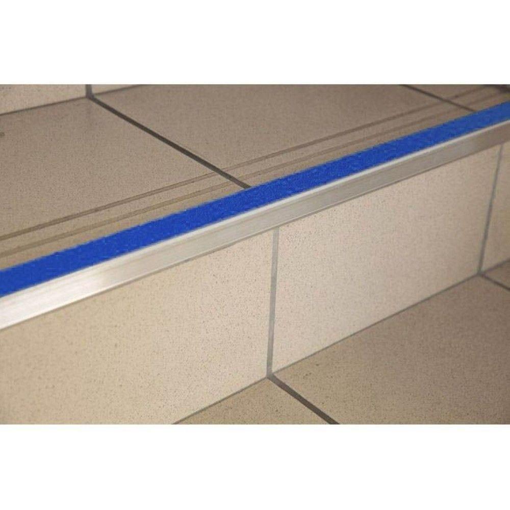 Nez de marche auto-adhésif intérieur ADI - 150 cm - Bleu