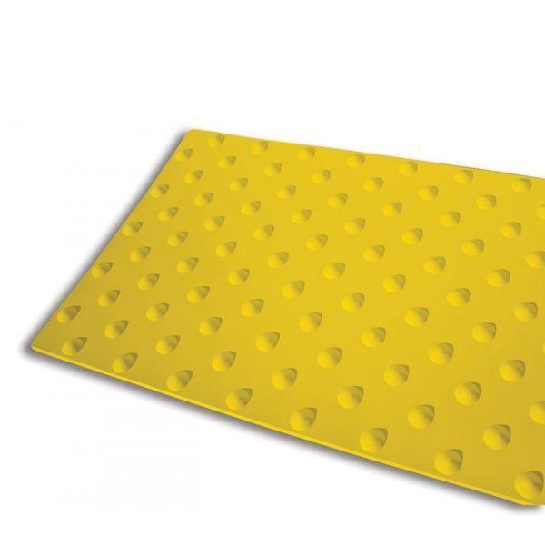 Dalle podotactile intérieure kelba jaune - 400x600 mm