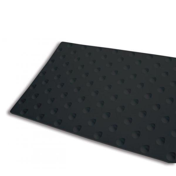 Dalle podotactile intérieure kelba noir - 400x600 mm