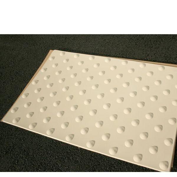 Dalle podotactile extérieure kelbext noir - 60x82 cm
