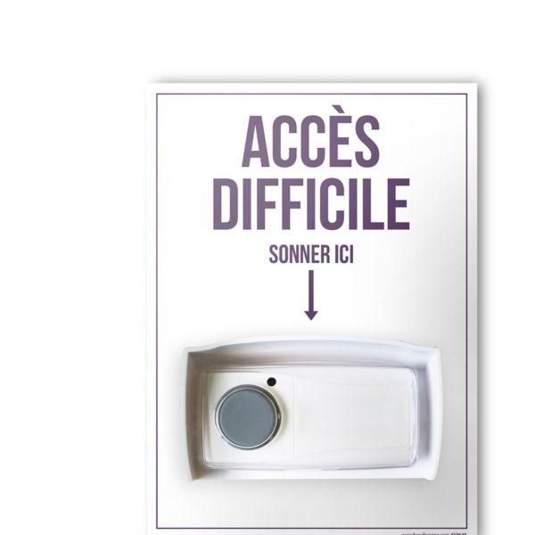 Kit carillon d'appel unik - accès difficile (photo)