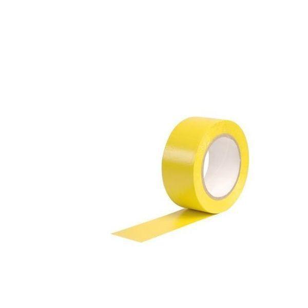 Adhésif de marquage au sol jaune (photo)