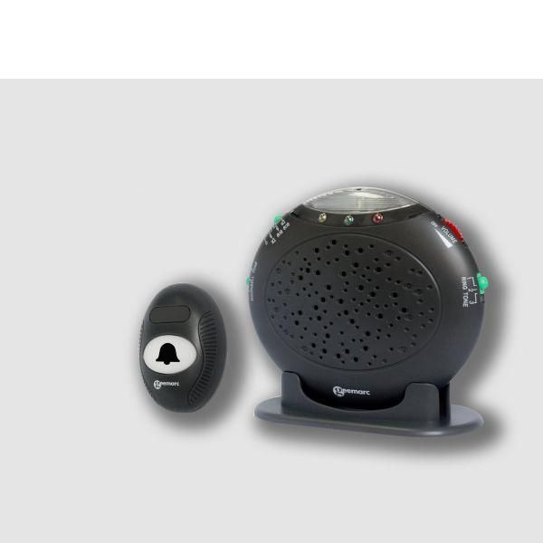 Amplicall, dispositif de liaison d'alarme pour malentendants (photo)