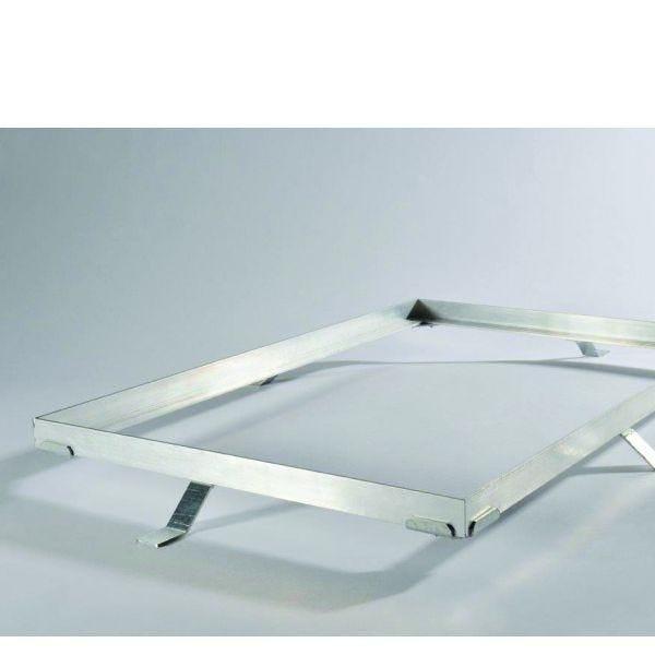 Cadre aluminium pour tapis d'entrée sur-mesure (photo)