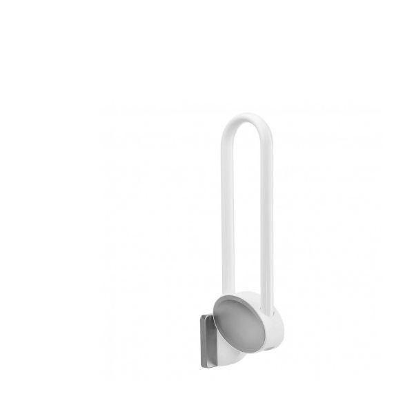 Barre d'appui relevable docca petit - gris clair (photo)