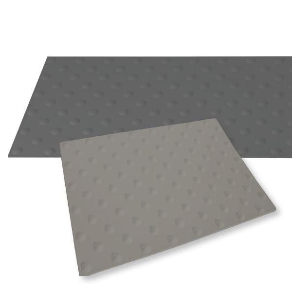 Dalle podotactile grise watlex - a coller -extérieure 445 x 400 mm