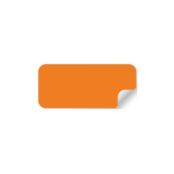 Pastilles Rectangulaires Multi-Usages - Orange - 50 x 20 mm