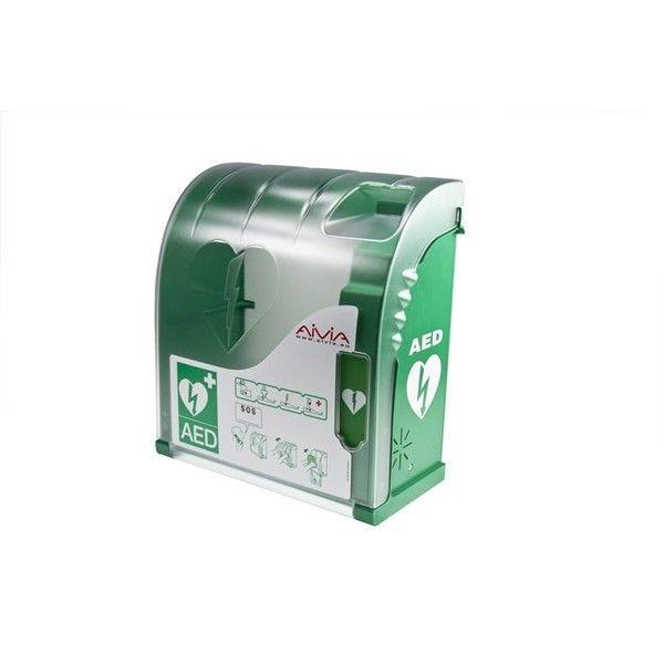 Armoire pour défibrillateur (avec ou sans chauffage) Option:Avec chauffage