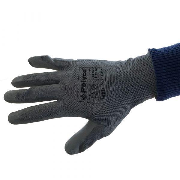 Gants de Manutention Matrix P Grip - EN388 - Noir -Taille 8