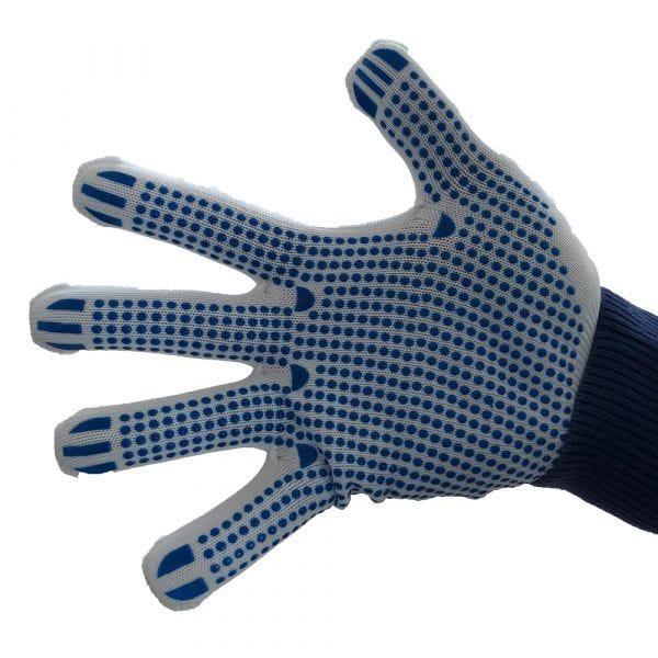 Gant de manutention confort Matrix D Grip blanc/bleu - EN 388-2016 -Taille 9