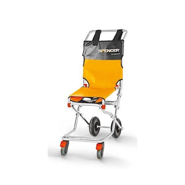 Chaise d'évacuation light 2 ou 4 roues nb: 4 (photo)