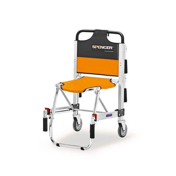 Chaise d'évacuation ergo 2 roues-sans accoudoirs (photo)