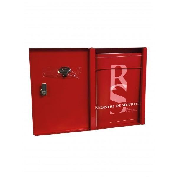 Kit armoire et registre de sécurité incendie (photo)