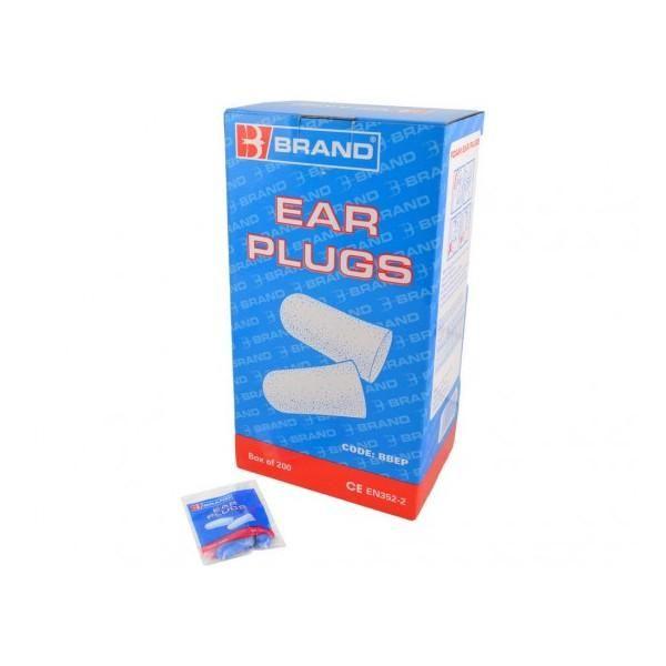 Boîte de 200 bouchons d'oreille (photo)