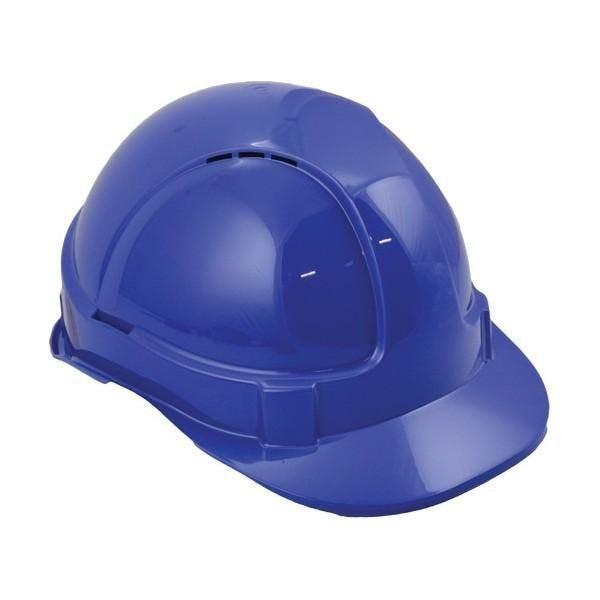 Casque de protection eco+ bleu (photo)