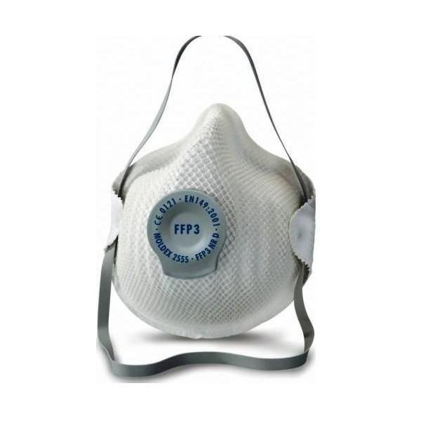 Boite de 20 masques respiratoires classiques niveau de protection : ffp3 (photo)