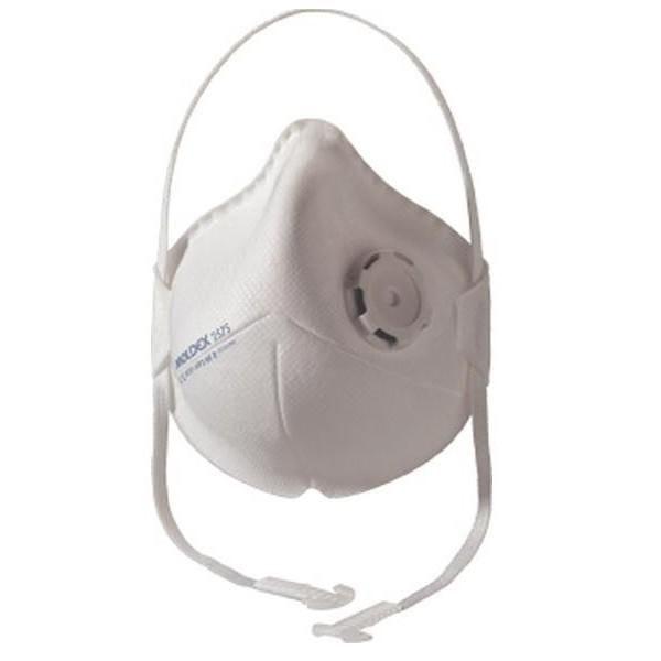 Boite de 20 masques respiratoires pliables pratiques niveau de protection : ffp3 (photo)
