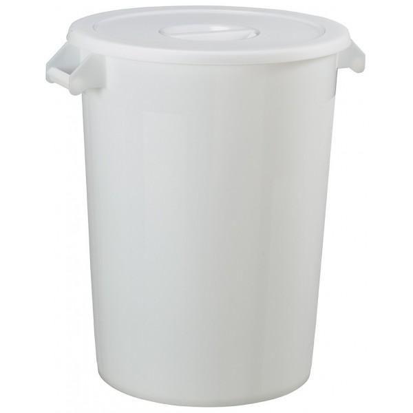 Collecteur alimentaire blanc (photo)