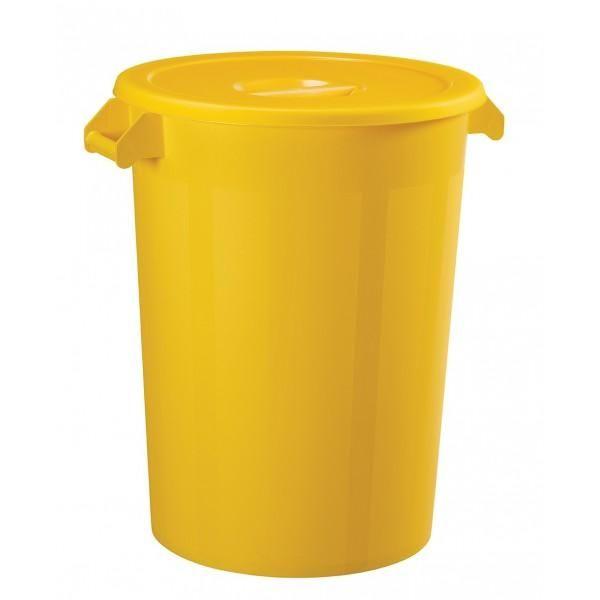 Collecteur alimentaire jaune (photo)