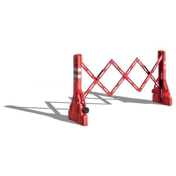 Barrière extensible rangement intégré