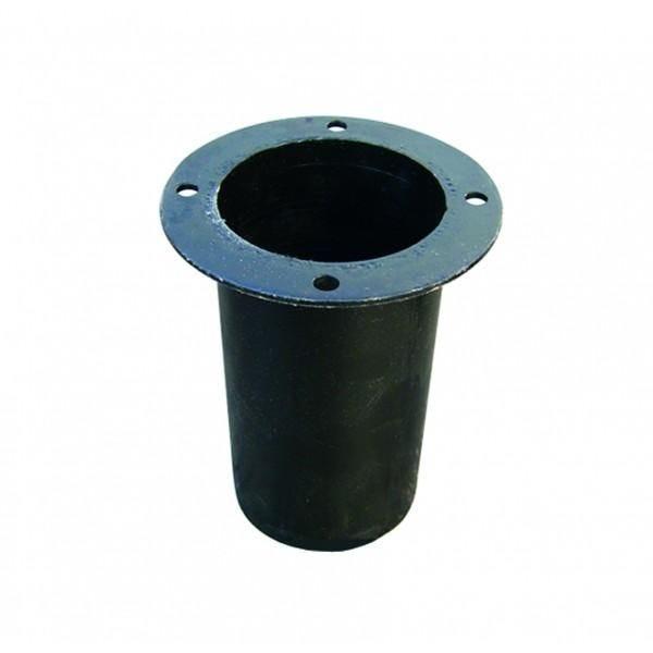 Base de scellement pour poteau ø100mm