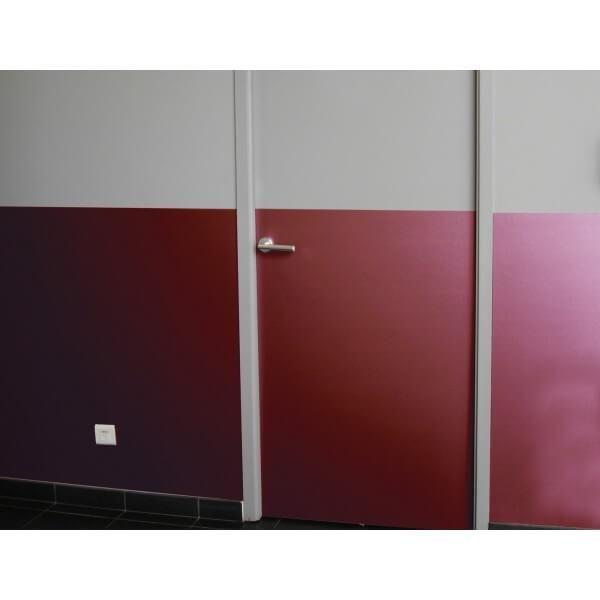 Panneau deco color grainé coloris palette : coloris r (photo)