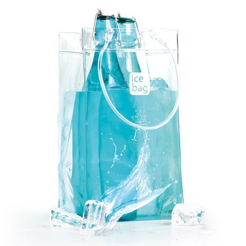 Ice.bag® classic clear king size transparent - 15+15x27,5cm x120 pcs