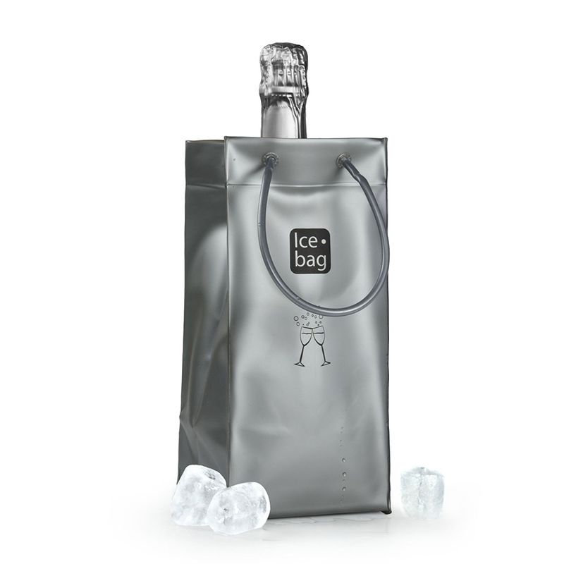 Ice.bag® argent mat - par 24 (photo)